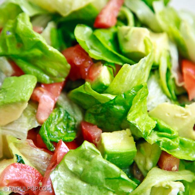 Avocado salad, improved recipe by Ligia Pop.