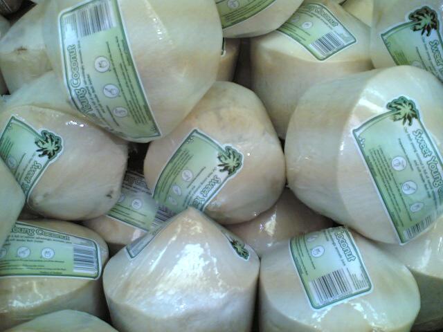 Nuca de cocos verde