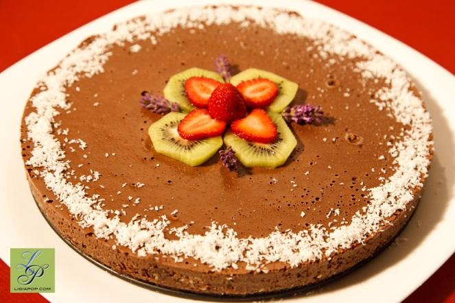 Tort de ciocolata cu menta (reteta originala de Ligia Pop)