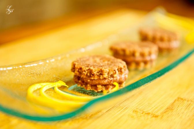 Raw Sour Cherry Cookies