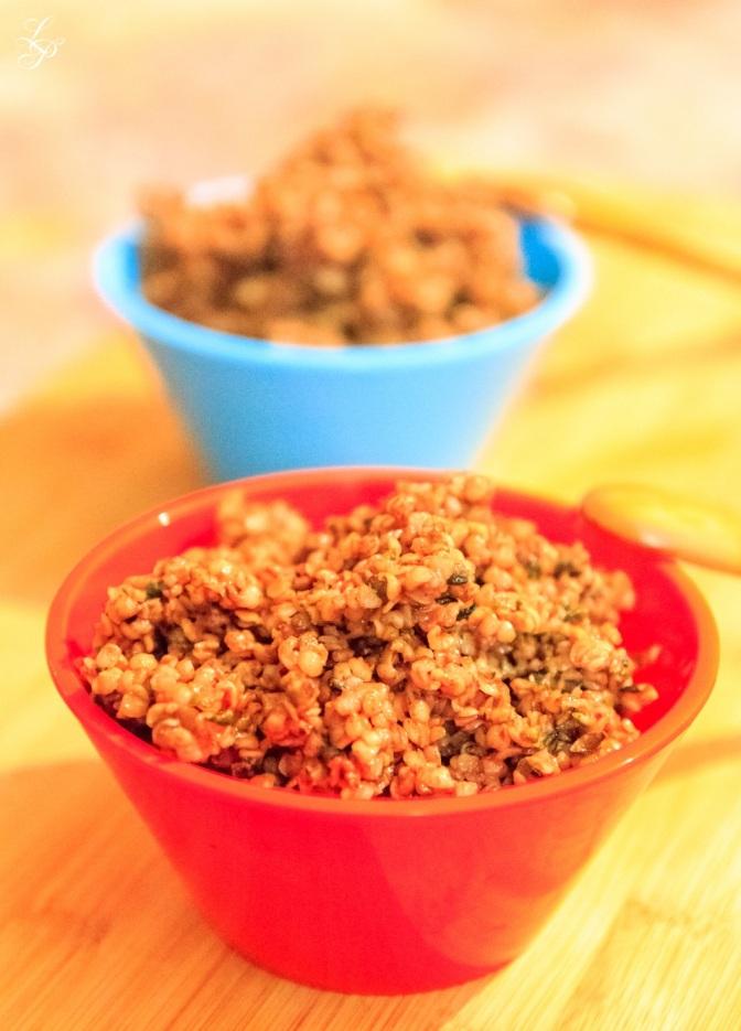 Hemp and Mesquite Porridge