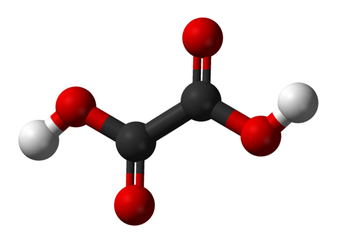 Oxalic-acid-3D-balls