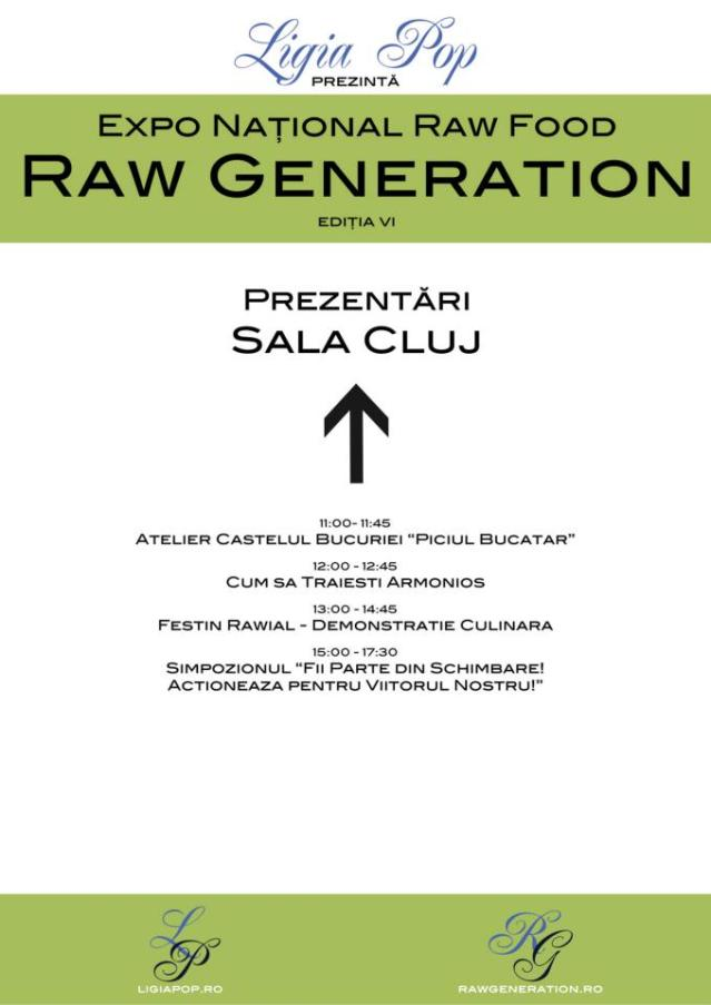 Prezentari in Sala Cluj - Raw Generation Expo Ed. VI