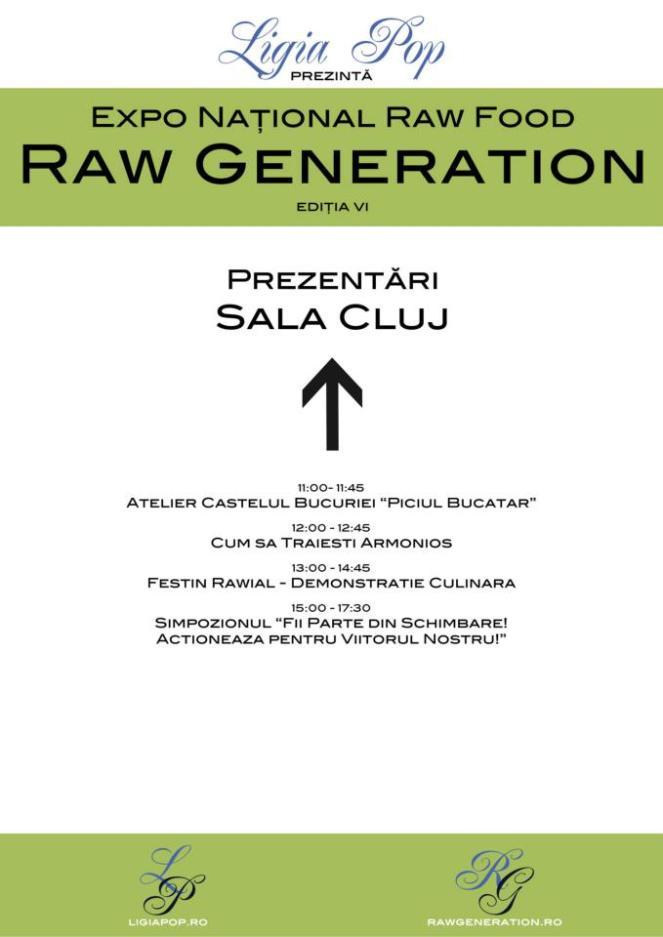 Prezentari in Sala Cluj - Raw Generation Expo Ed. VI