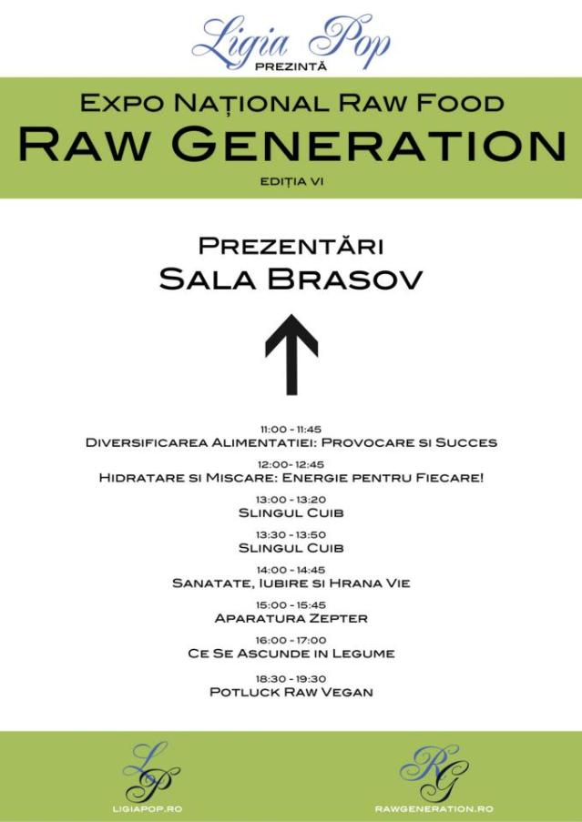 Prezentari in Sala Brasov - Raw Generation Expo Ed. VI
