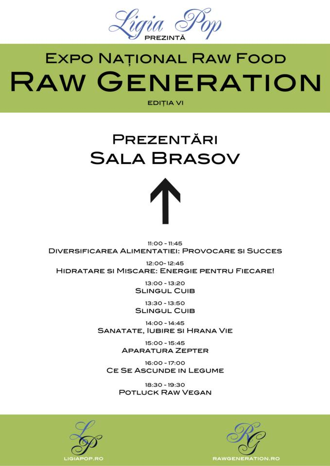 Prezentari in Sala Brasov - Raw Generation Expo Ed. VI