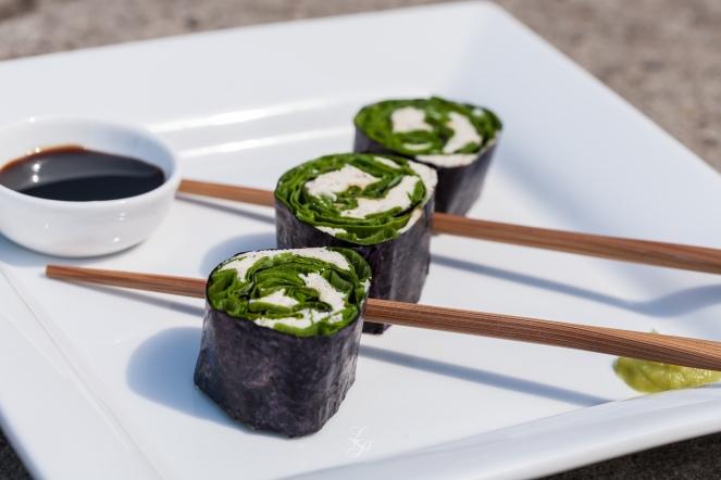 Sushi cu branza raw braziliana