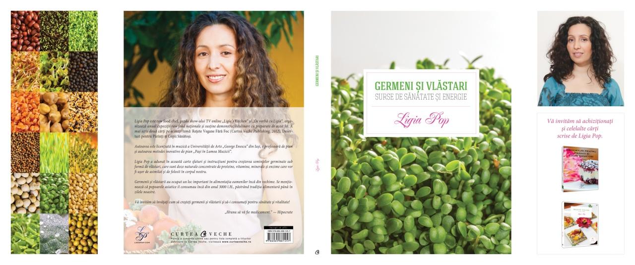 Germeni și vlăstari: surse de sănătate și energie, coperta integrală, ediția II