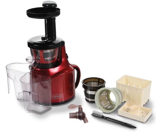 greenis-slow-juicer-with-accessories