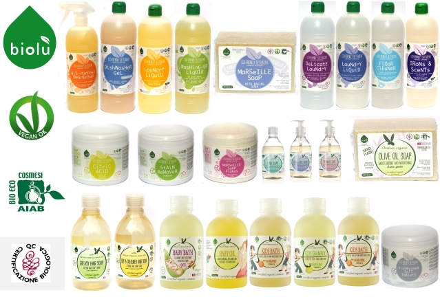Gama Biolu de sapunuri si detergenti