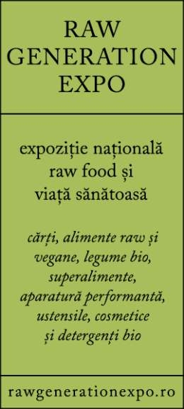 Raw Generation Expo - expozitie nationala raw food si viata sanatoasa
