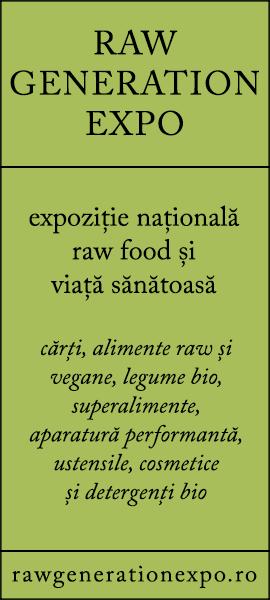 Raw Generation Expo - expozitie nationala raw food si viata sanatoasa