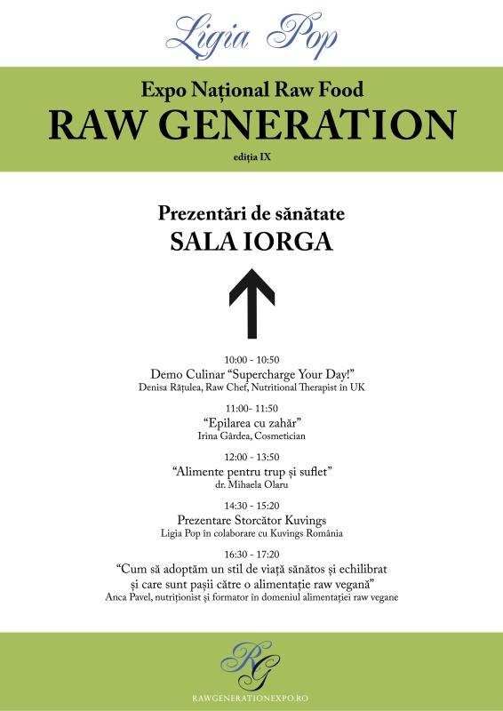 Afis Oficial - Primavara 2015 - Prezentari Sala Iorga