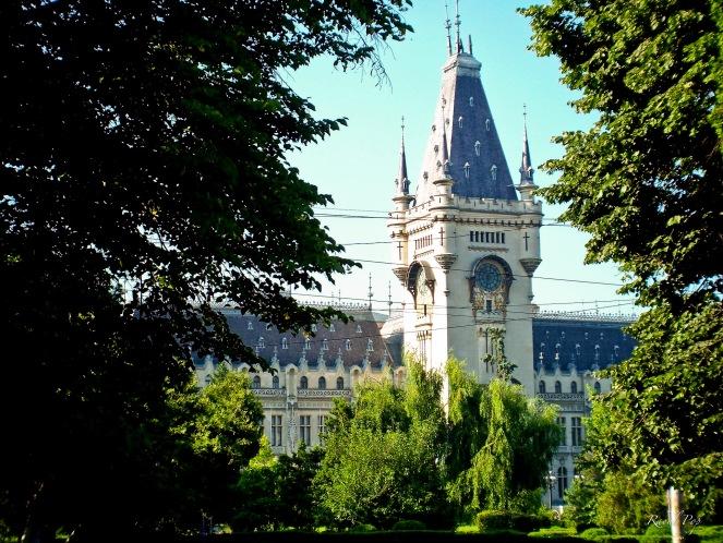 Palatul Culturii, Iasi, Moldova, Romania.