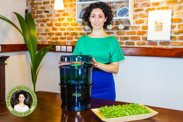 Ligia si germinatorul automat Freshlife
