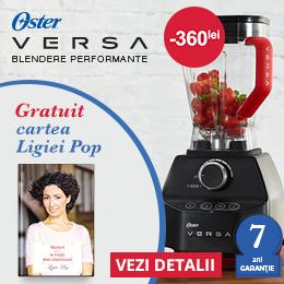 Va recomand blenderul Oster Versa