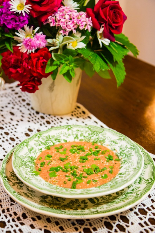 Supa de rosii raw